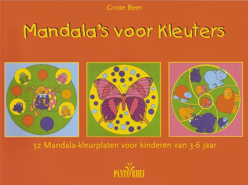 Mandala S Voor Kleuters G Beer Boeken Com