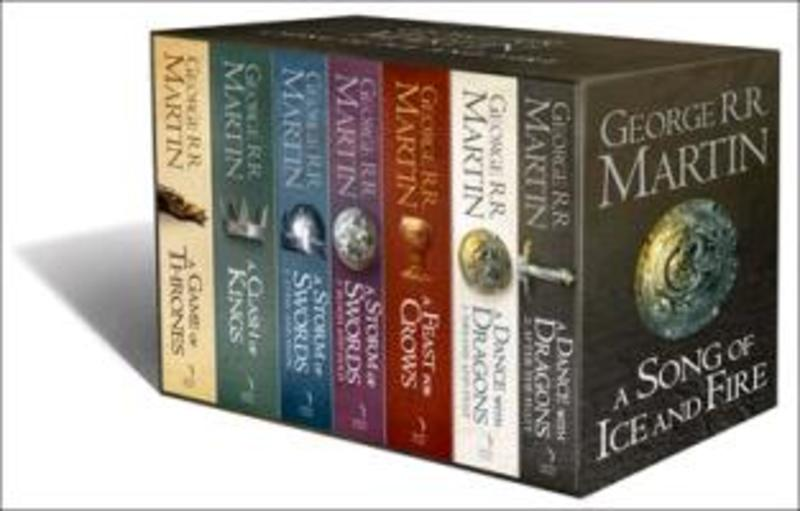 A Song Of Ice And Fire B-format 7 Volume Box Set - George R.R. Martin (ISBN 9780007477159)