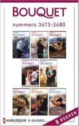 Bouquet e-bundel nummers 3473-3480 (e-Book)
