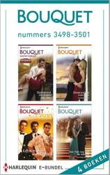 Bouquet e-bundel nummers 3498-3501 (e-Book)