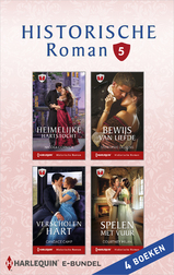 Historische roman e-bundel 5 (4-in-1) (e-Book)