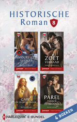 Historische roman e-bundel 8 (4-in-1) (e-Book)