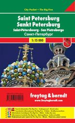St. Petersburg 1 : 12.500. City Pocket + The big five