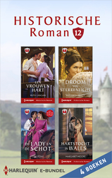 Historische roman e-bundel 12 (4-in-1) (e-Book)