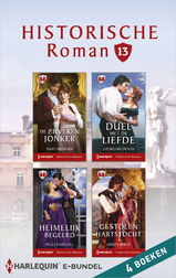 Historische roman e-bundel 13 (4-in-1) (e-Book)