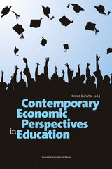 Contemporary economic perspectives in education (e-Book)