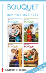 Bouquet e-bundel nummers 4033 - 4036 (e-Book)