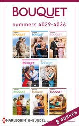 Bouquet e-bundel nummers 4029 - 4036 (e-Book)
