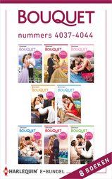 Bouquet e-bundel nummers 4037 - 4044 (e-Book)
