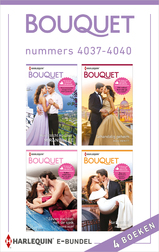 Bouquet e-bundel nummers 4037 - 4040 (e-Book)