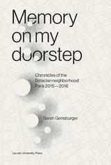 Memory on My Doorstep (e-Book)