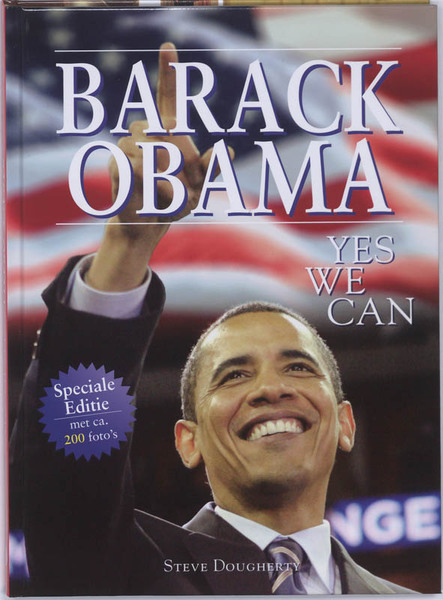 yes we can by barack obama The barack obama's story is useful for research and historical informationit contains lively pictures that illustrate important and necessary steps of his walk to presidency his striking speeches,interviews and answers to some key points about difficulties he encounters on his way.