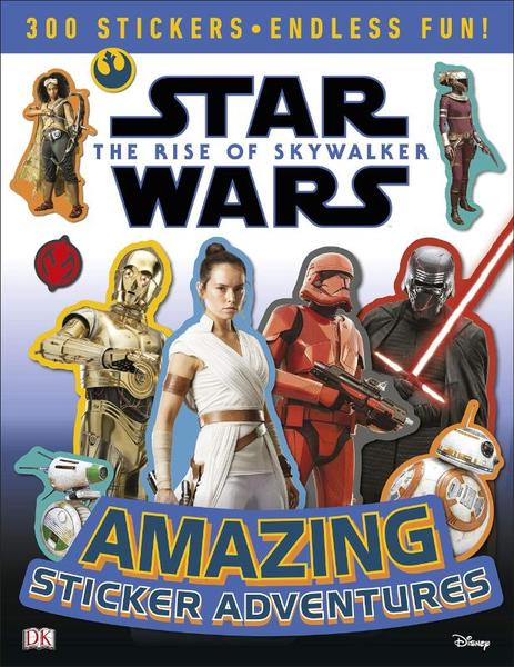 Star Wars The Rise of Skywalker Amazing Sticker Adventures - David Fentiman, DK (ISBN 9780241357712)