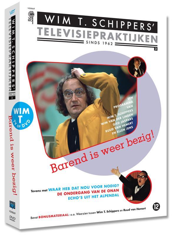 Barend Is Weer Bezig (3DVD)