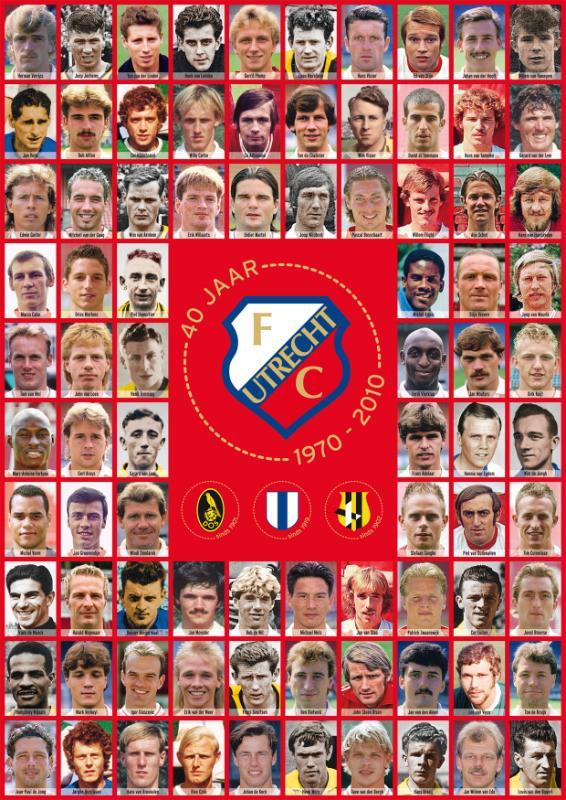 40 jaar FC Utrecht - Martin Donker, Ton de Ruiter