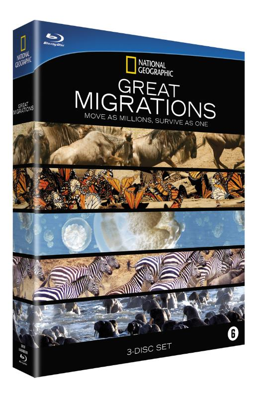 Great Migrations (3Blu-ray's+1DVD)
