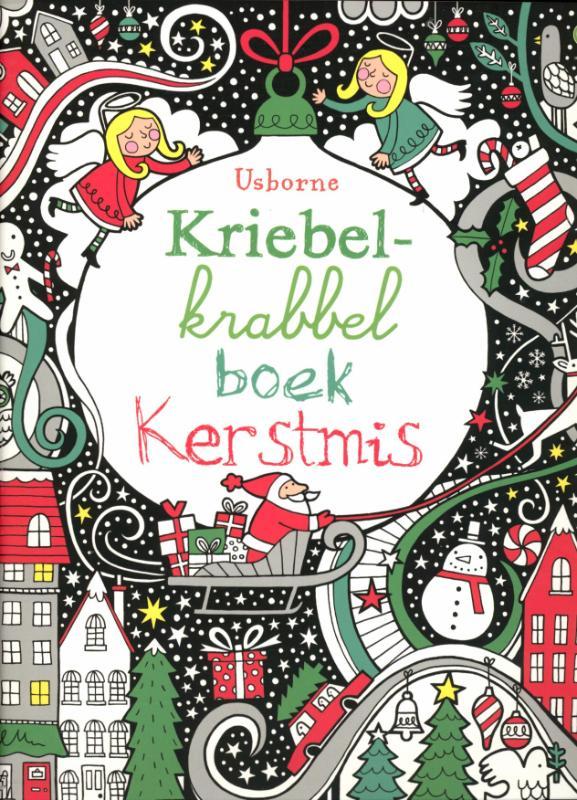 Kriebel Krabbel boek Kerstmis - F. Watt