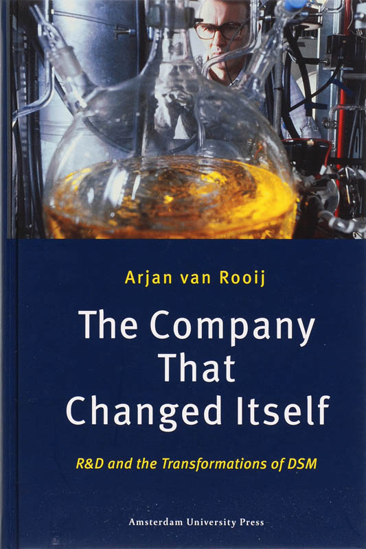 Kaft van e-book The Company that Changed Itself