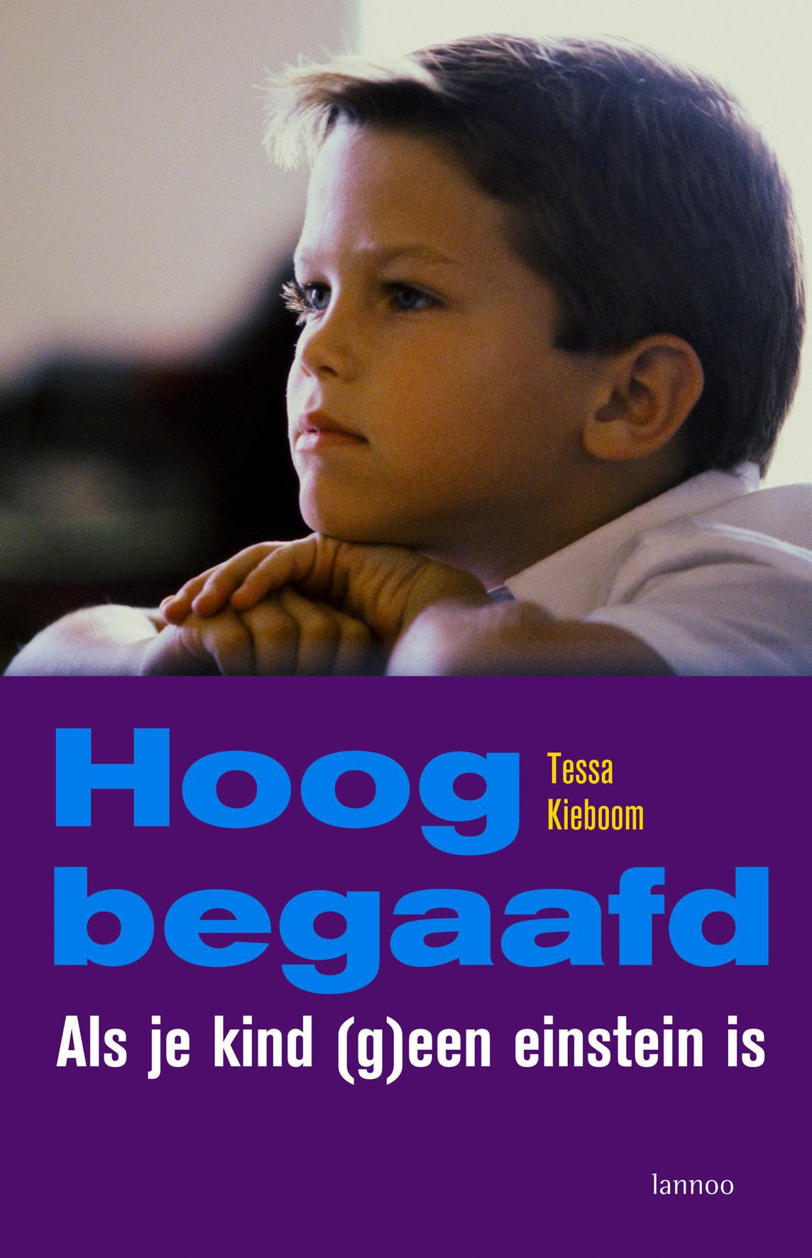 Kaft van e-book Hoogbegaafd
