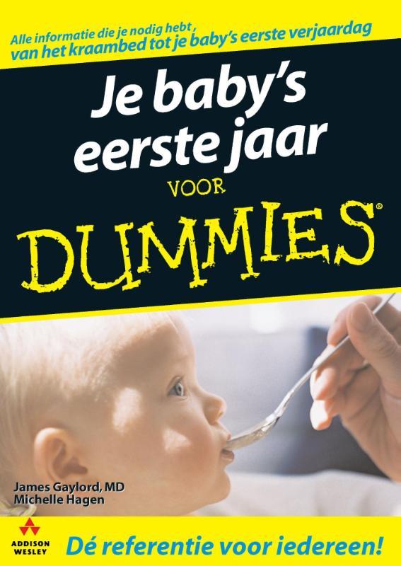 Kaft van e-book Je baby's eerste jaar voor Dummies