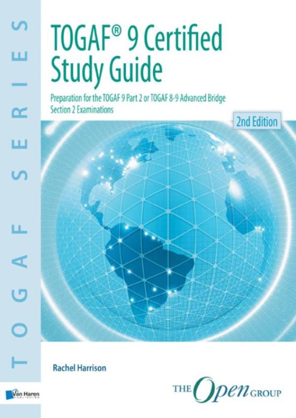 Kaft van e-book TOGAF 9 certified study guide / deel Study guide
