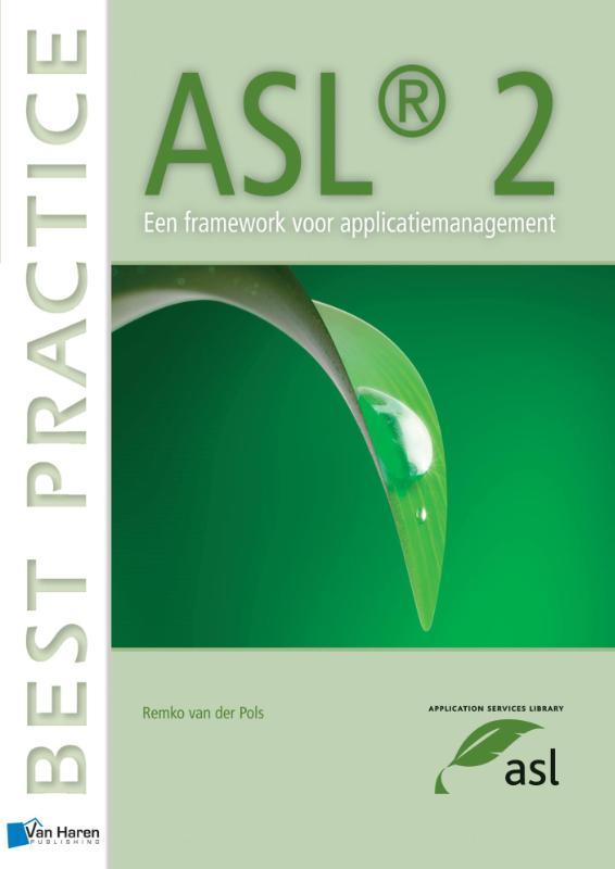 Kaft van e-book ASL2- Een Framework voor Applicatiemanagement