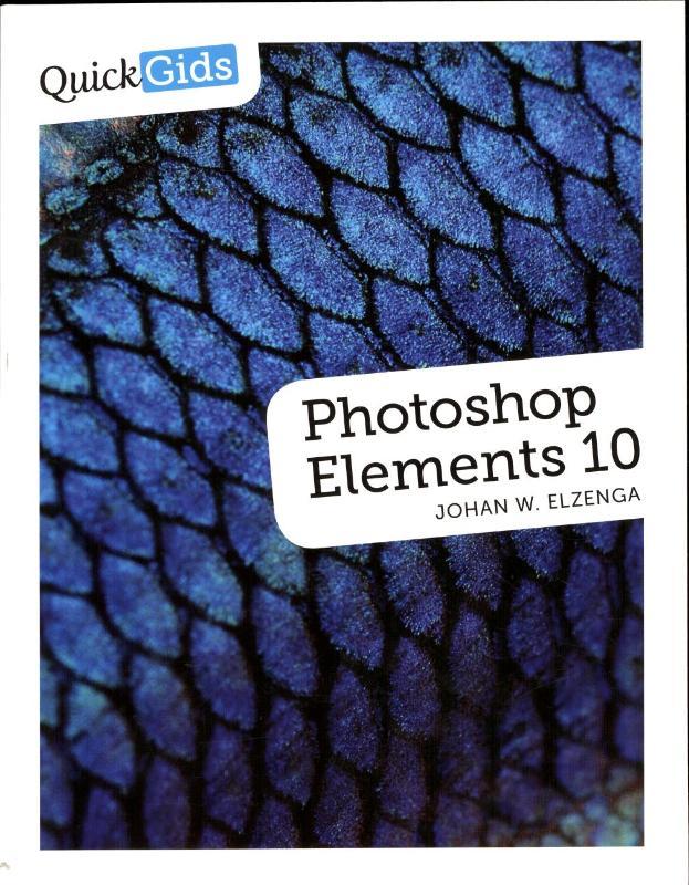 LITERATUUR QUICKGIDS PHOTOSHOP ELEMENTS10