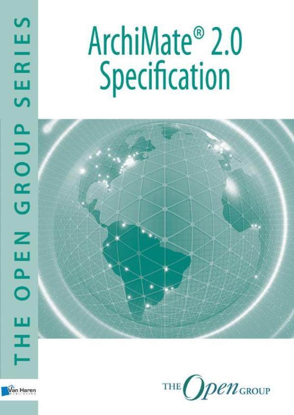 Kaft van e-book Archimate 2.0 specification technical standard