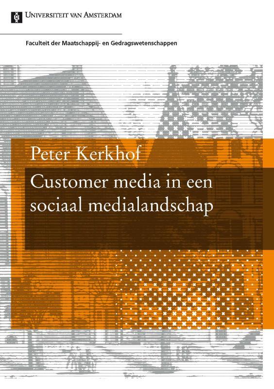 Kaft van e-book Customer media in een sociaal medialandschap