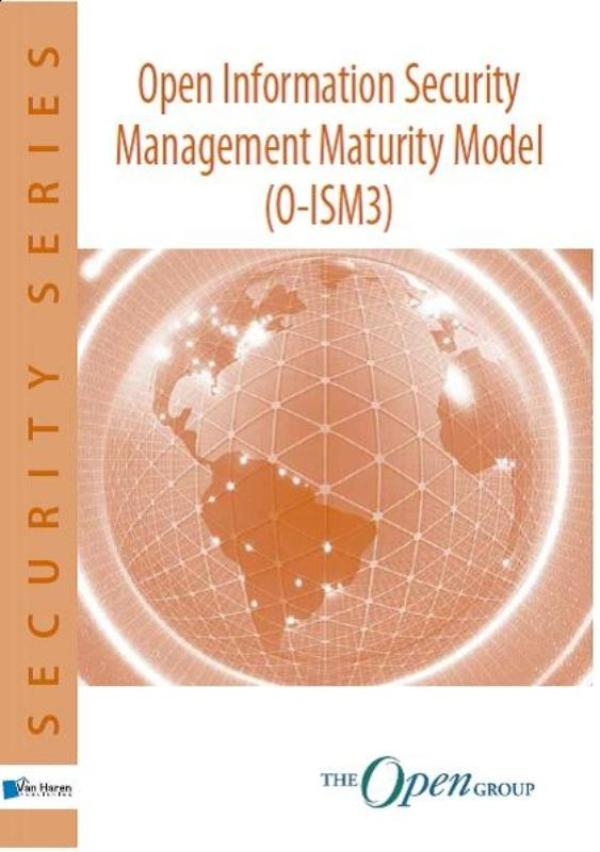 Kaft van e-book Open information Security Management Maturity Model (O-ISM3)