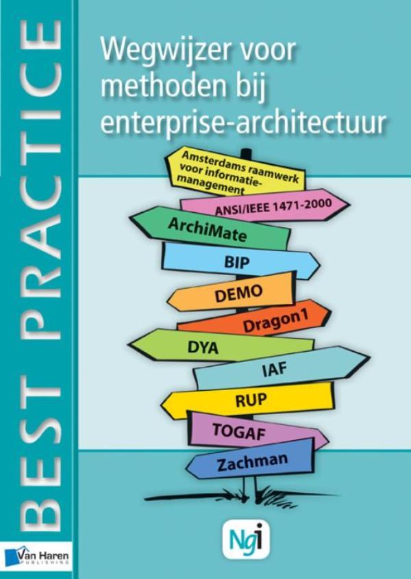 Kaft van e-book Wegwijzer voor methoden bij Enterprise-architectuur