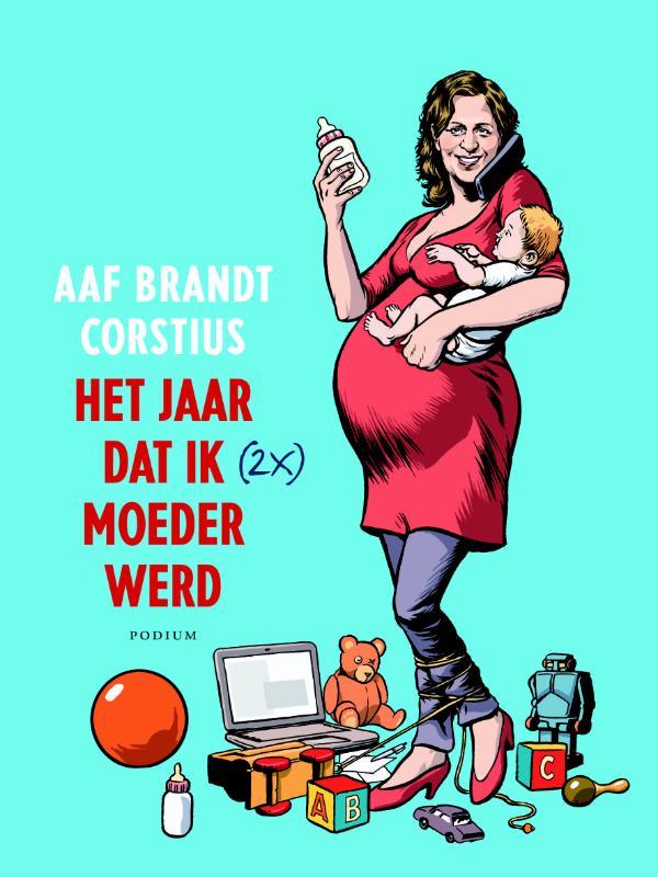 Kaft van e-book Het jaar dat ik (2x) moeder werd