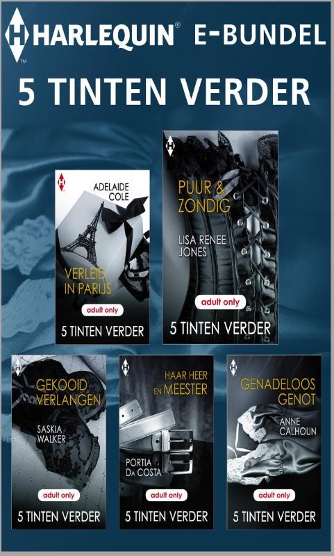9789461994653 - Adelaide Cole: 5 tinten verder e-bundel (e-Book) - Boek