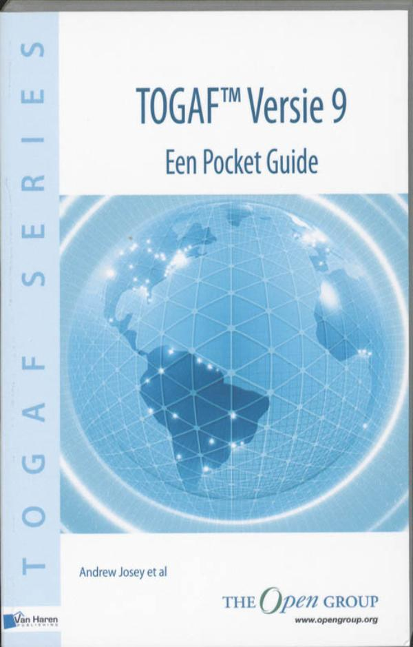 Kaft van e-book E-book: TOGAF Versie 9 Pocket Guide