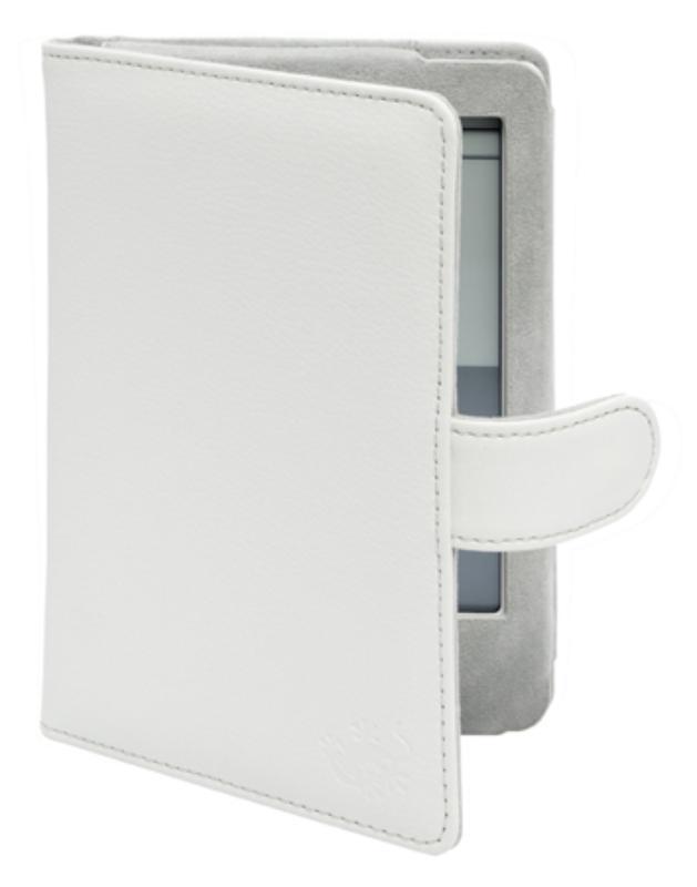 Gecko Covers Luxe Beschermhoes voor KOBO Touch Wit