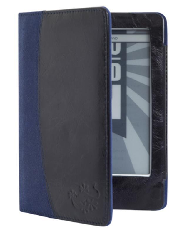 Gecko Covers Leren Beschermhoes voor Kobo Touch - Blauw