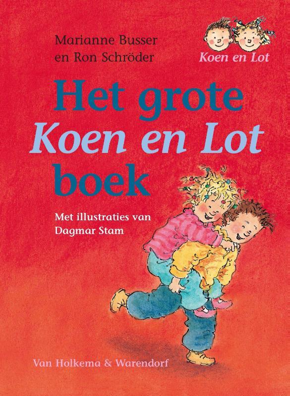 Het grote boek van Koen en Lot - M. Busser