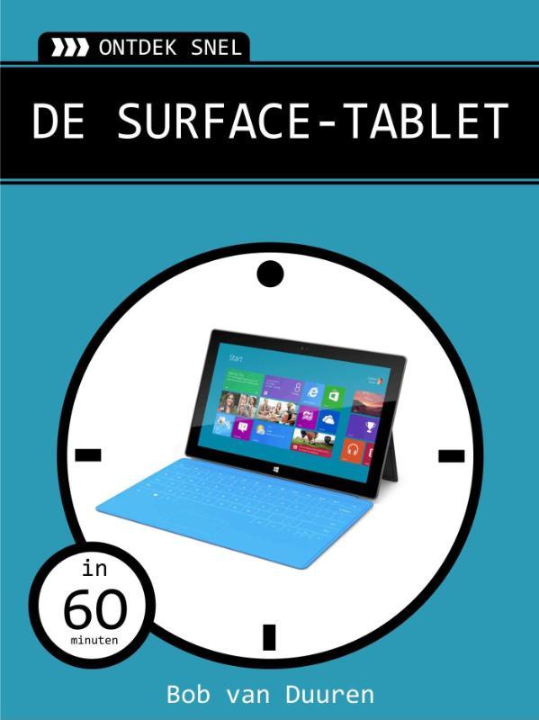 Kaft van e-book Ontdek snel: De surface-tablet