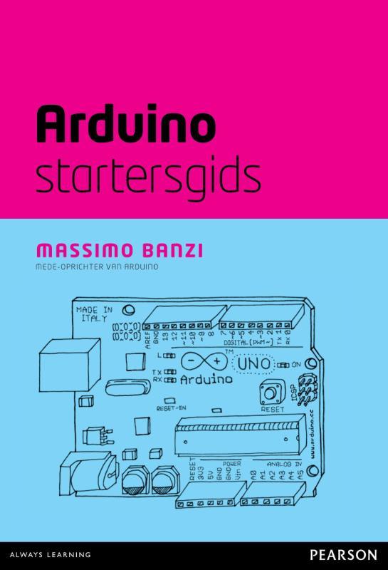 Kaft van e-book Arduino startersgids (ePub)