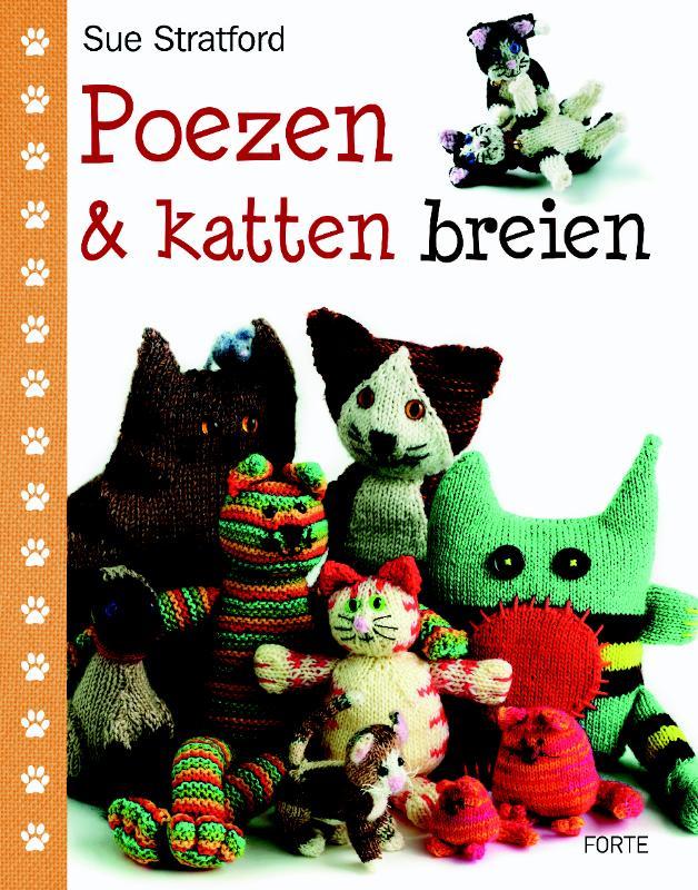 Gek op katten? en op breien? dan is dit boek geknipt voor jou! want je vindt hier maar liefst twintig ...