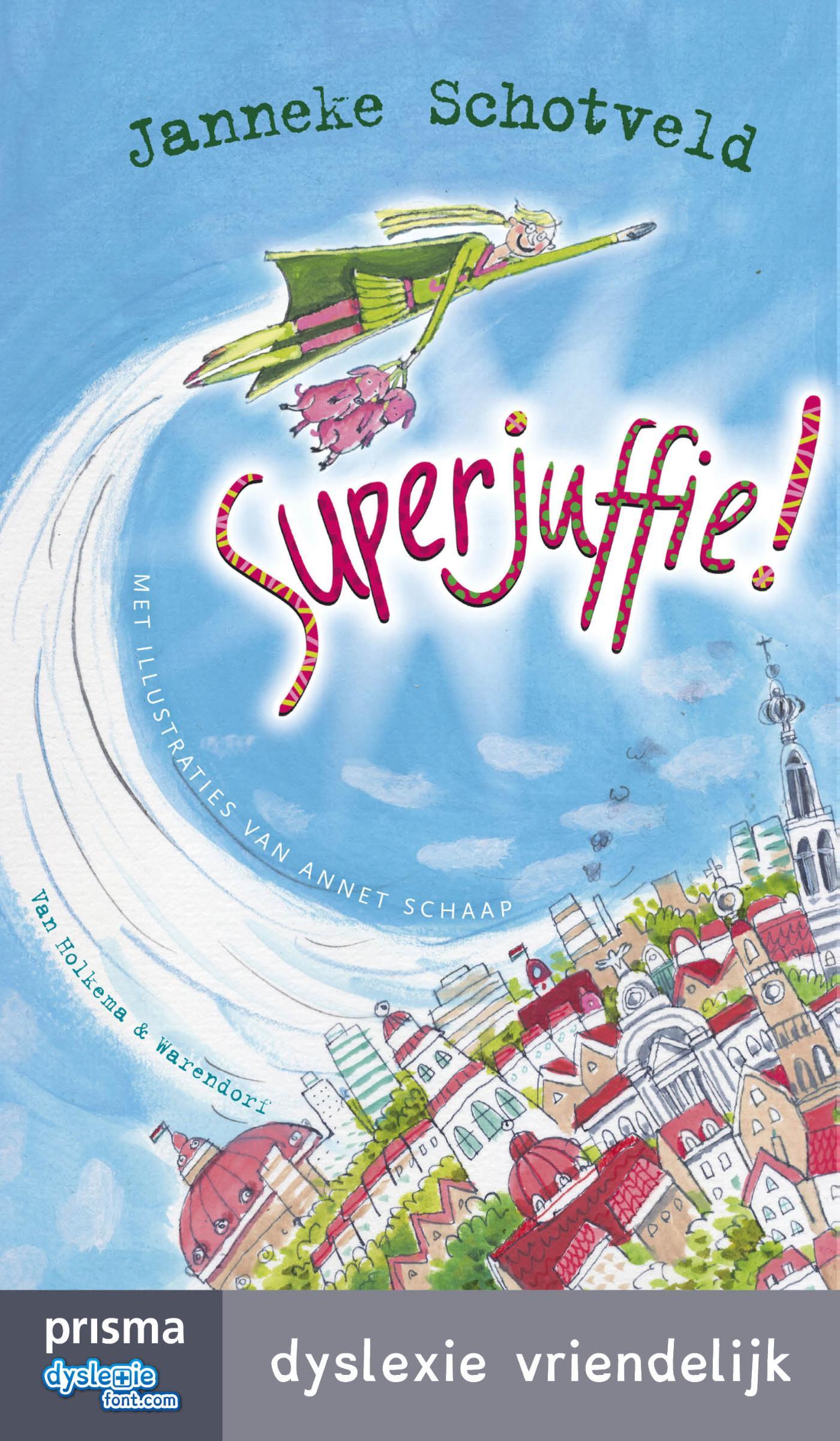 Kaft van e-book Superjuffie!
