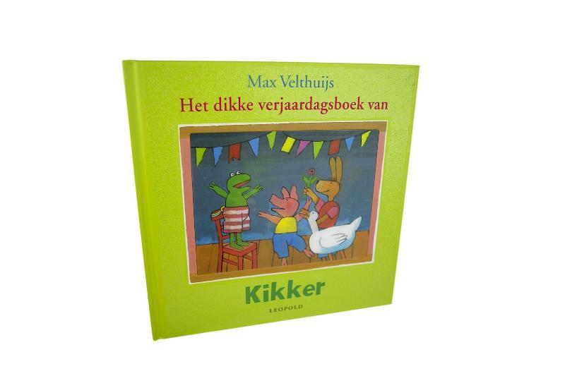 Het dikke verjaardagsboek van Kikker - M. Velthuijs