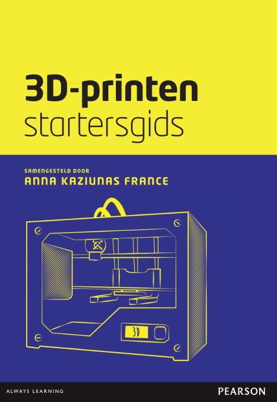 Kaft van e-book 3D-printen startersgids