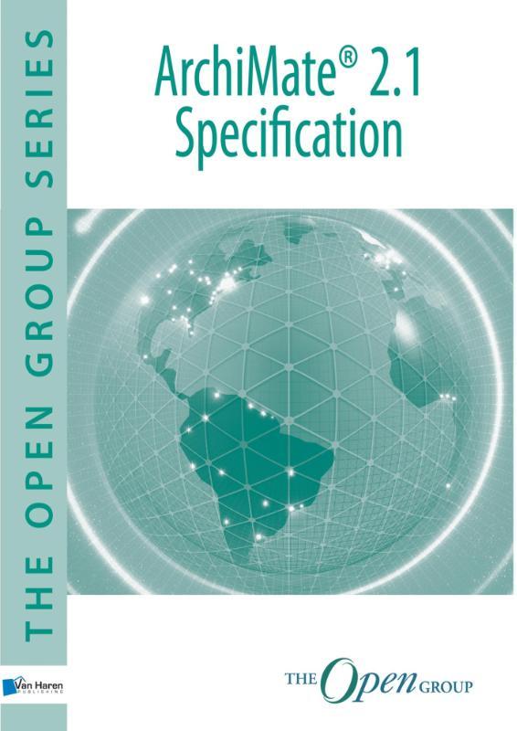 Kaft van e-book ArchiMate® 2.1 Specification