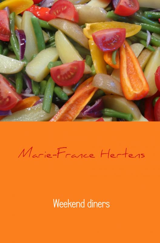 9789402115079 - Marie-France Hertens: Weekend diners - Boek