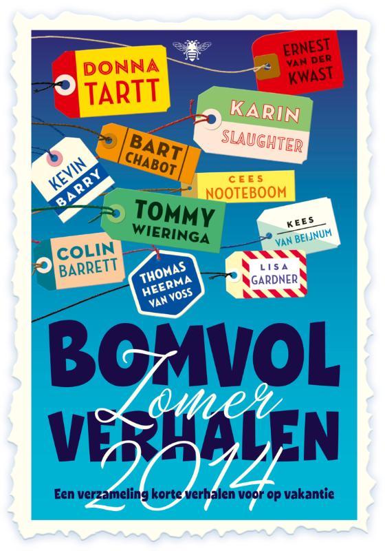Kaft van e-book Bomvol zomerverhalen / 2014