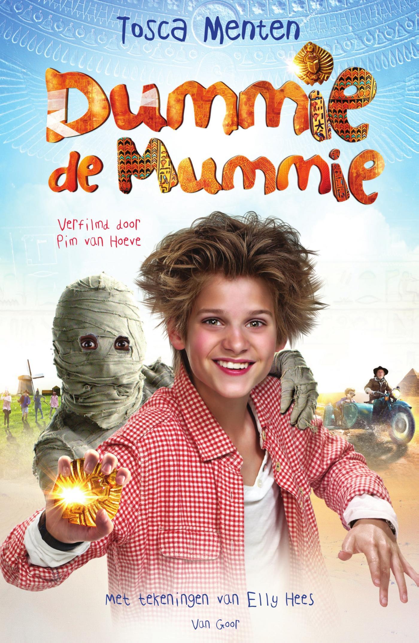 e book dummie de mummie en de gouden scarabee filmeditie