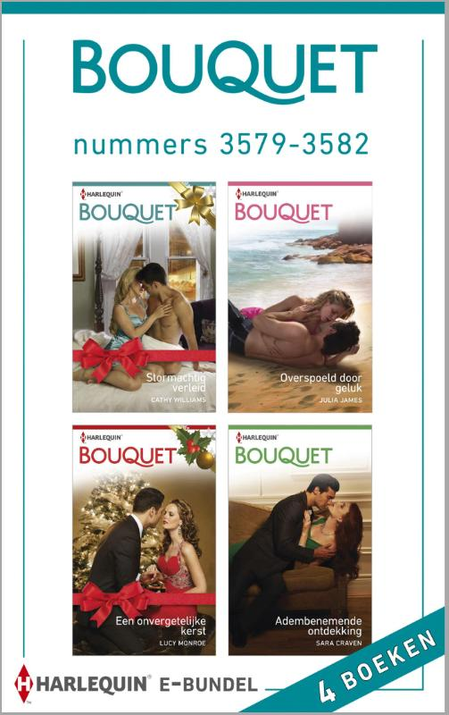 9789402507300 - Cathy Williams: Bouquet e-bundel nummers 3579-3582 (e-Book) - Buch
