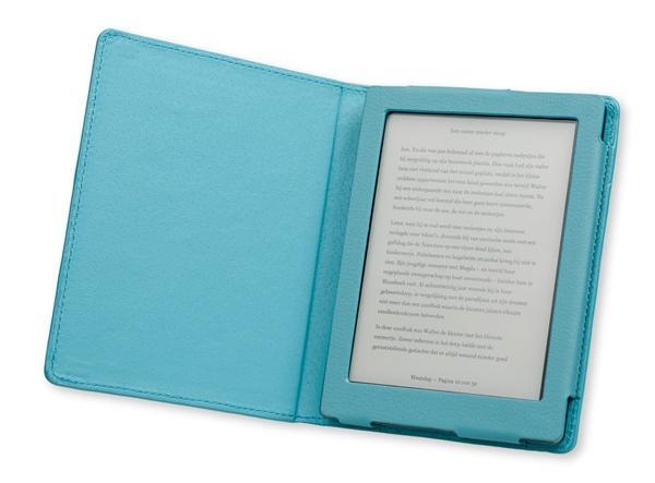Gecko Covers Luxe Case Kobo Aura Azure Blue