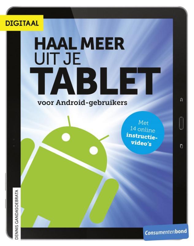 Kaft van e-book Haal meer uit je tablet - voor Android-gebruikers